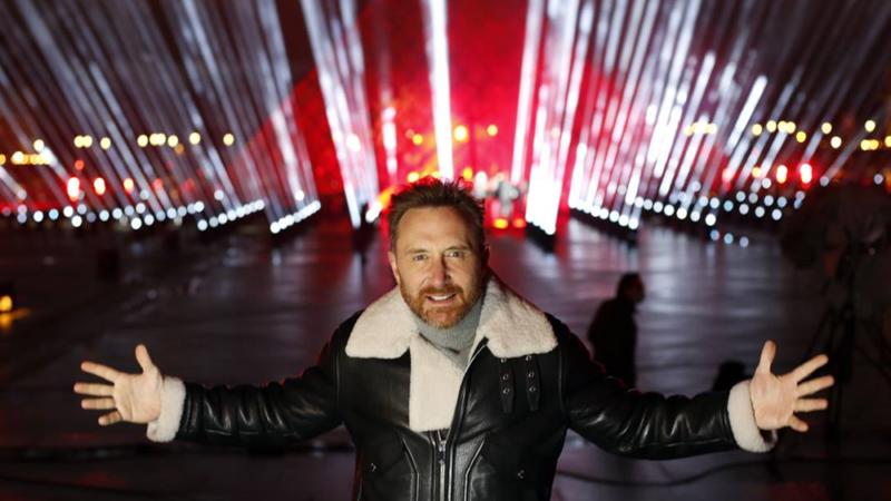 David Guetta en mix depuis Paris pour le nouvel an !