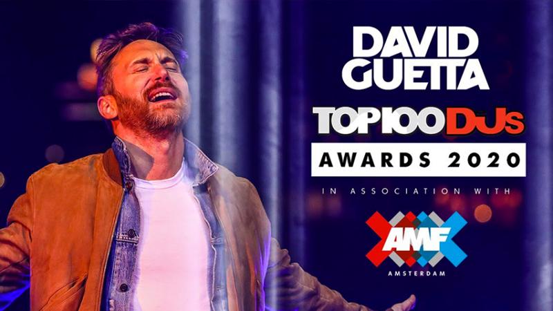 David Guetta meilleur DJ du monde !