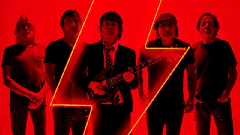 AC/DC numéro un des ventes d'albums !