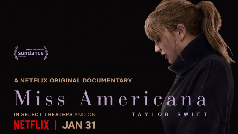 Un documentaire de Taylor Swift « Miss Americana » sur Netflix le 31 janvier !