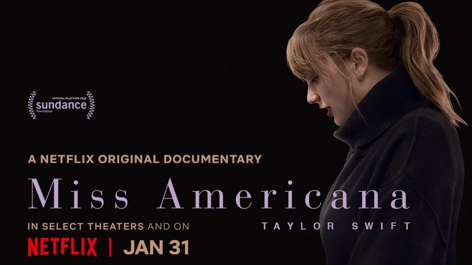 Un documentaire de Taylor Swift «Miss Americana» sur Netflix le 31 janvier !