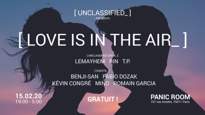 Unclassified_ #8 | Love Is In The Air