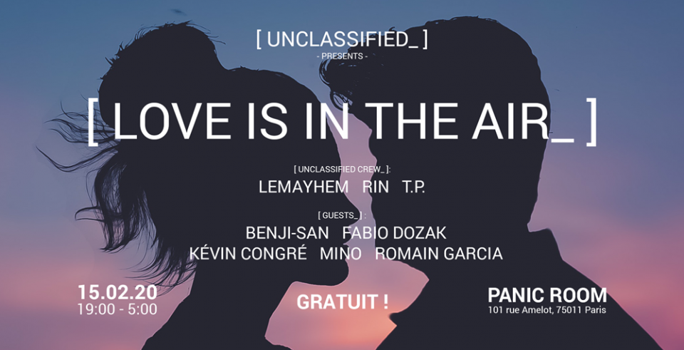 Unclassified_ #8   Love Is In The Air