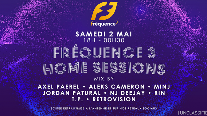 Fréquence 3 Home Sessions