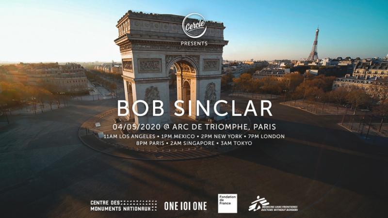 Le DJ Set de Bob Sinclar sur l'Arc de Triomphe est reporté !