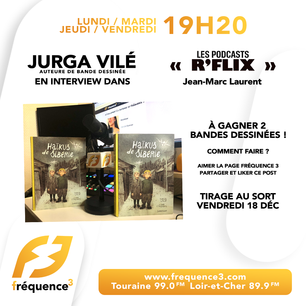 R'FLIX avec Jurga Vilé épisode 4