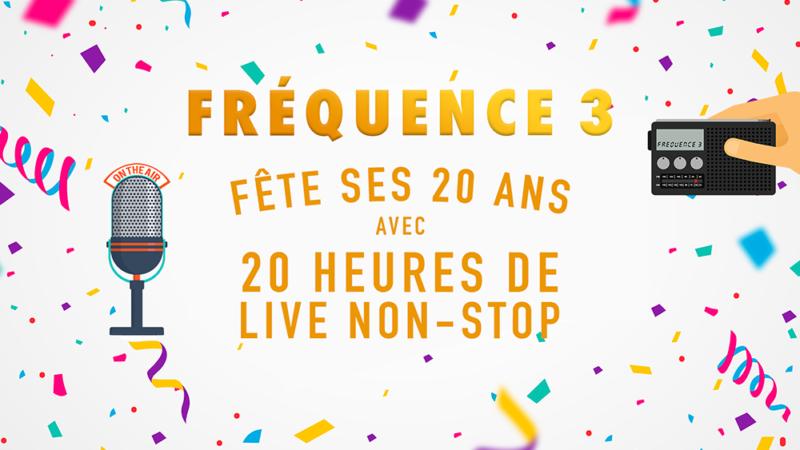 Fréquence 3 se prépare à fêter ses 20 ans !!
