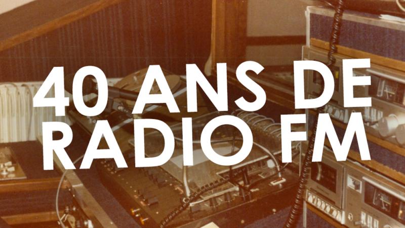 40 ans de la radio FM avec Jean-Marc Laurent