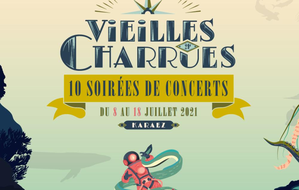 La programmation du festival Vieilles Charrues 2021 dévoilée !