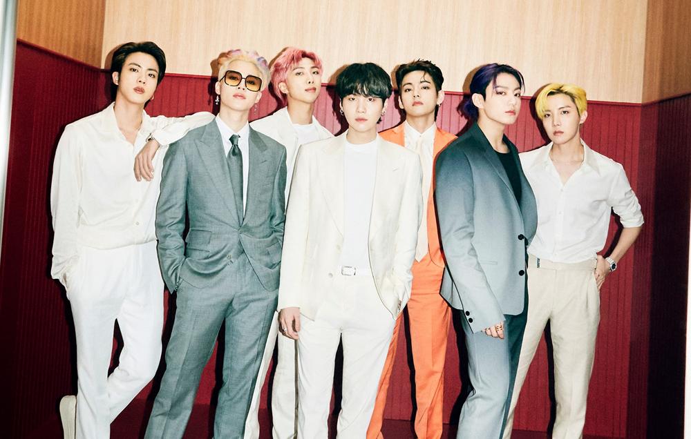 BTS au sommet avec leur nouveau titre «Butter»