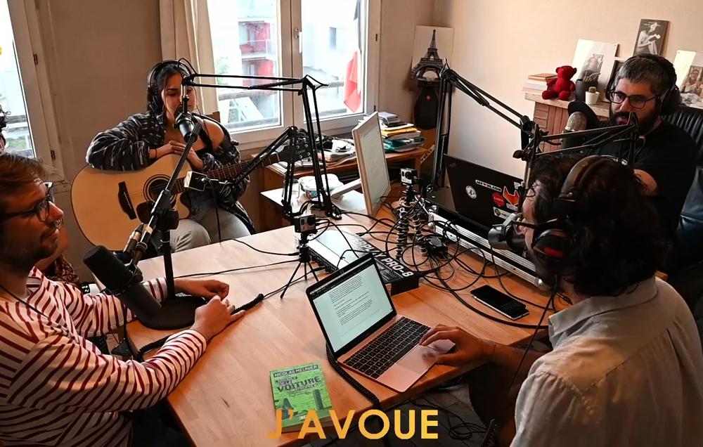 Podcast vidéo de l'émission de Mai, J'AVOUE