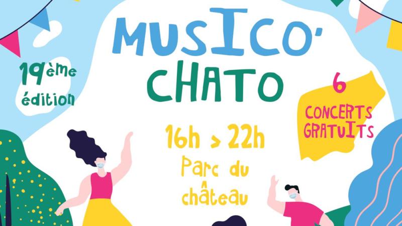 Fréquence 3 partenaire de la 19ème édition de Musico' Chato !
