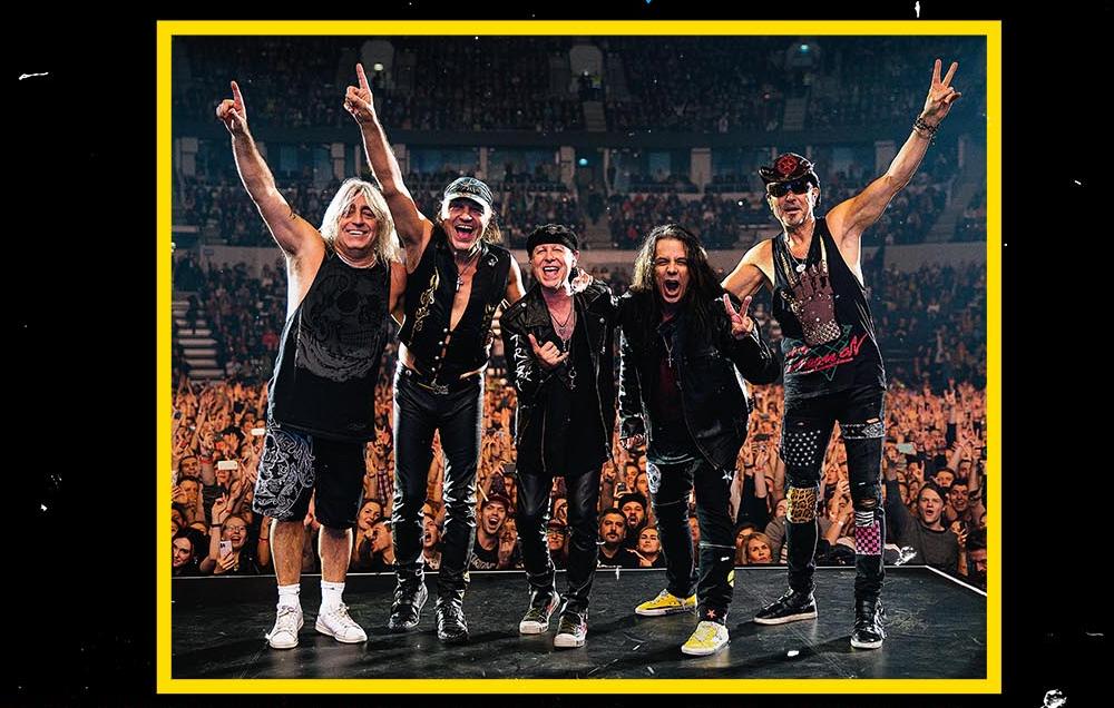 Le groupe Scorpions de retour avec un nouvel album et une tournée mondiale !